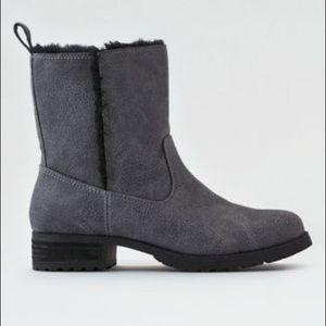 AEO Fur Lug Boot